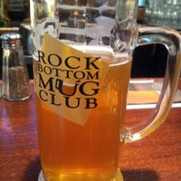 Photo taken at Rock Bottom Restaurant & Brewery by Lolly .. on 10/4/2012