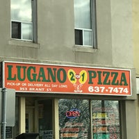 Photo taken at Lugano 2 For 1 Pizza by Shane K. on 11/26/2016