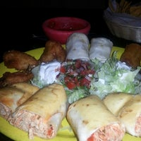 Photo taken at Poblano's Mexican Bar & Grill by Miss M. on 10/14/2013