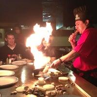 Photo taken at Fujiyama Steak House of Japan by Brian M. on 12/23/2012