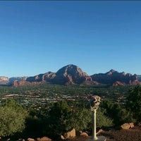 Photo taken at Sky Ranch Lodge Scenic View Area by Anthony K. on 9/4/2016