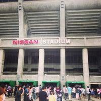 Photo taken at Nissan Stadium by aztanz on 6/8/2013