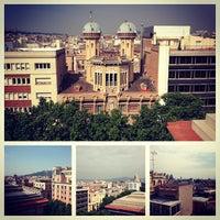 6/11/2013 tarihinde Kristina C.ziyaretçi tarafından Hotel Serhs Rivoli Rambla'de çekilen fotoğraf