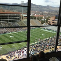 Photo taken at Folsom Stadium Club Level - UCB by Kimbirly O. on 4/13/2013