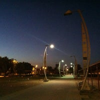 Photo taken at Al Corniche Walk by Ahmed A. on 12/14/2012