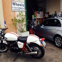 Photo taken at Wheels Gommista by Billa H. on 4/26/2014