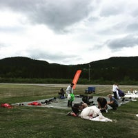 Photo taken at Skydive Voss by Hans v. on 6/16/2016
