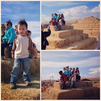 Photo taken at Fantozzi Farms Corn Maze and Pumpkin Patch by Emma on 10/28/2013