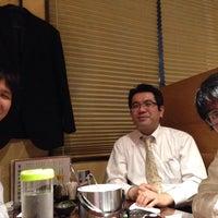 Photo taken at 海鮮個室 湊一や 博多筑紫口店 by K N. on 4/25/2014