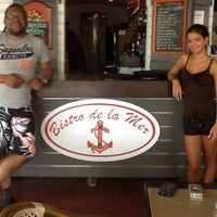 Photo taken at Le Bistro De La Mer by Clayton M. on 7/25/2013