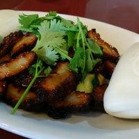 Photo taken at Kuan Yin Vegetarian Restaurant by OMnom on 7/25/2014