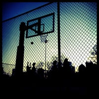 Photo taken at Piedmont Park - Basketball Courts by Leon F. on 4/1/2013