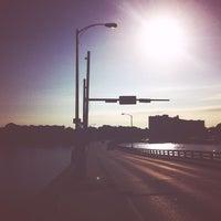 Photo taken at Silver Beach Bridge by Leon F. on 7/25/2014