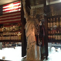 Photo taken at Liberty American Cafe & Coctail Bar by ????????? ?. on 10/3/2013