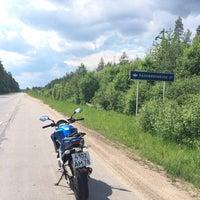 Photo taken at 101 км СНТ Лесное by Julia I. on 6/8/2014