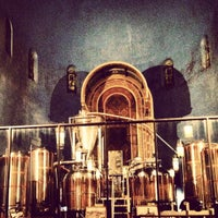 Photo taken at The Church Brew Works by Laura F. on 11/1/2012