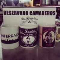 Photo taken at Destilería Bar Ponferrada by CARLOS T. on 3/3/2015