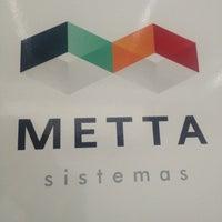 Photo taken at Metta Sistemas by Marcelo L. on 11/9/2012