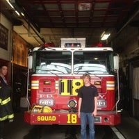 Photo taken at FDNY Squad 18 by Scott N. on 7/27/2013