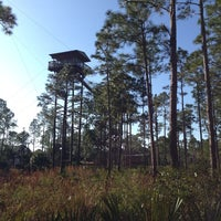 Photo taken at Forever Florida Zipline Safari by Niclas B. on 1/20/2014