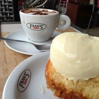 Photo taken at Fran's Café by Marcos César d. on 11/18/2012