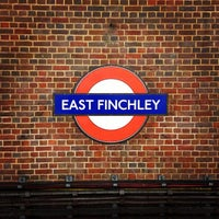 Photo taken at East Finchley London Underground Station by Warren L. on 10/8/2012
