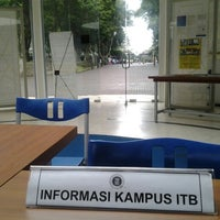Photo taken at Information Centre ITB by Aulia Virnanda S. on 2/22/2013