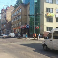Photo taken at Zelena Street by RomaNovich on 7/4/2013