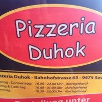 Photo taken at Duhok Pizzeria by Joel D. on 6/27/2013