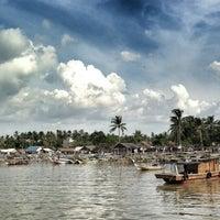Photo taken at Pantai tanjung kait by Adrian エ. on 5/18/2013