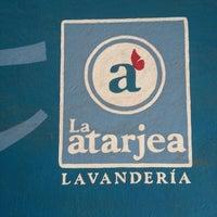 Photo taken at Lavandería Atarjea by Ðaniel E. on 1/7/2014