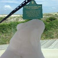 Photo taken at Bald Head Island by Janet H. on 7/27/2013