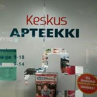 Photo taken at Kankaanpään keskusapteekki by Aapo R. on 12/28/2013