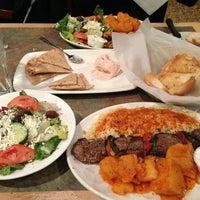 Photo taken at MR. GREEK Mediterranean Grill by Goldie☠ T. on 3/21/2013