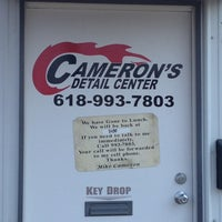 Photo taken at Cameron's Detailing Center by Donna C. on 9/11/2013