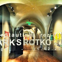 Photo taken at Mark Rothko Art Centre | Marka Rotko mākslas centrs by Guliz O. on 10/5/2013