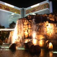 Photo taken at The Mirage Volcano by Ryan K. on 11/7/2012