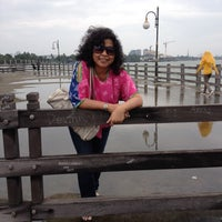 Photo taken at Dermaga Hati,Ancol Beach Pool. by kikky w. on 1/21/2014