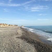 Photo taken at Passeggiata Bordighera-Vallecrosia by Giorgio A. on 1/30/2013