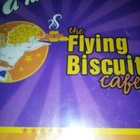 Photo taken at The Flying Biscuit Cafe by Steve W. on 10/14/2012
