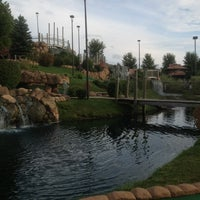 Photo taken at Congo River Miniature Golf by Rishi P. on 8/22/2013