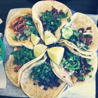 Photo taken at Taqueria Mixteca by Lauren A. on 11/17/2012