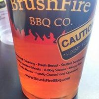 Photo taken at Brushfire BBQ by chris m. on 4/2/2015