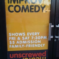 Photo taken at Unscrewed Theater by chris m. on 6/8/2014