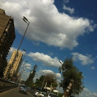 Photo taken at 6th October Bridge by Alhusseiny A. on 1/30/2013