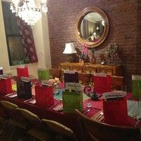 Photo taken at Myra's Kitchen by Sharon R. on 2/14/2013