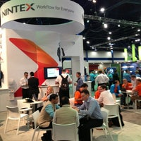 Photo taken at Nintex #WPC13 Booth by Eden S. on 7/8/2013