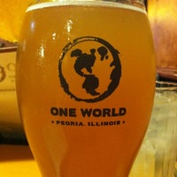 Photo taken at One World Eats & Drinks by Trevor H. on 11/10/2012
