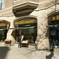 Photo taken at Rönnells antikvariat by Sarmad N. on 5/5/2017