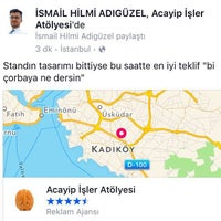10/24/2015 tarihinde İsmail Hilmi A.ziyaretçi tarafından Acayip İşler Atölyesi'de çekilen fotoğraf